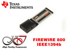 Karte Expresscard 34mm - firewire 800 IEEE1394b - Chipsatz ti Texas Instrumente