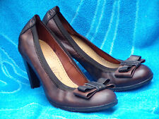 HISPANITAS CHAUSSURES ESCARPINS 100 % CUIR LEATHER A TALON 9 CM TBE P.40 ou 40,5