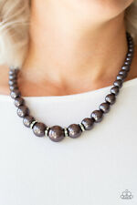 Party Pearls Black Necklace By: Paparazzi