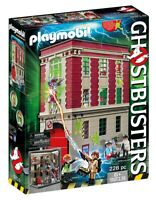 Playmobil Ghostbusters Firehouse Kids Play 9219 NEW SAME DAY SHIP