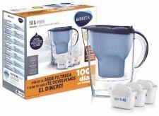 Brita jarra marella azul+3 filtros 2.4l(1033316)