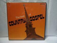 Best of Country Gospel  3XLP Box Set  *SEALED*  Johnny Cash Robbins Bill Monroe