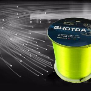 500M Nylon Fishing Line Japanese Durable Monofilament Rock Sea Fishing Line sea