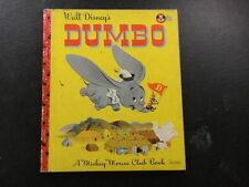 Walt Disney Dumbo A Mickey Mouse Club Book 1947