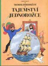 Tintin Le Secret de la Licorne Hergé album Tchèque CZECH langue étranger Edition