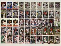 2010-2020 Boston Red Sox 50-card Team Lot (Bowman/Topps, no duplicates)