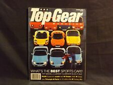 TOP GEAR MAGAZINE ISSUE 42 MARCH 1997 WHAT'S THE BEST SPORTS CAR. ALFA ROMEO GTV