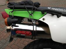 Kawasaki KLR650 Exhaust Road Legal Stainless Tri Oval by GPR E Marked