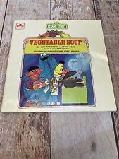 Vegetable Soup Sesame Street Golden Book CTW Jim Henson's Sesame Street Muppets
