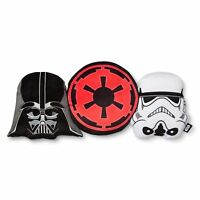 Star Wars Darth Vader Plush Throw Pillow, Vader & Storm Trooper Face, Home Decor