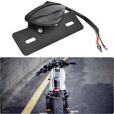 12V Led Rear Brake License Plate Tail Light For Cafe Racer Custom Motorcycles Us(Fits: Boss Hoss)