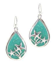 Sealife Theme  Opal Earings - Starfish Tear drop drop dangle