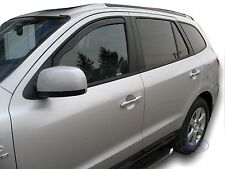 HYUNDAI SANTA FE 2006 - 2012 Front wind deflectors 2pc set TINTED HEKO