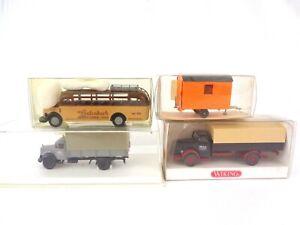 Brekina Wiking Praline 1:87 Scale HO Vehicle Bundle Truck Mercedes Bus