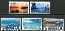 TONGA 1999 SCENIC VIEWS - SHIPS - ISLANDS MINT SET OF 5 STAMPS - $8.35 VALUE!