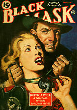 VINTAGE DETECTIVE COMIC ART COVERS - Restored Images For Pro Print Making