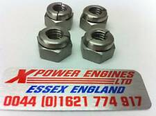 COSWORTH  EXHAUST MANIFOLD NUTS M8  ( 4 NUTS ) SIERRA ESCORT RS500