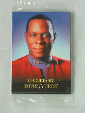 LEGENDS OF STAR TREK CAPTAIN BENJAMIN SISKO 9 CARD SET BY RITTENHOUSE