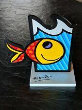 """ROMERO BRITTO """"BOOM FISH"""" SCULPTURE"""