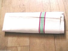 FRENCH 1940s LARGE KITCHEN DISH TOWEL -SIGNED METIS: LINEN & COTTON -34 x 24-NEW