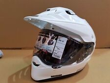 Shoei Hornet ADV motorcycle helmet white Large