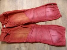 PORTOFINO schöne Jeans rot orange Gr. 98 TOP ST817