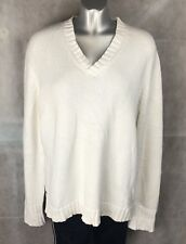 Lauren Ralph Lauren  Jumper Sweater White Size L
