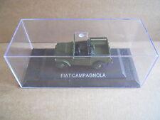 FIAT CAMPAGNOLA Legendary Cars 1:43 Die Cast in Box in Plexiglass [MV10]