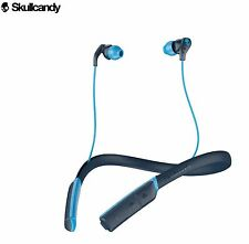 Genuine Skullcandy Method Wireless Gym Sport Earbuds with Microphone - Navy Blue