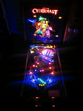 Cybernaut Arcade Pinball Machine by Bally 1985 (Custom Led)