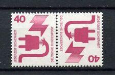 Germania occidentale 1972 SG # 1601A 40pF prevenzione COPPIA Tete-beche MNH #A 4056