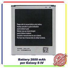 BATTERIA PER SAMSUNG EB-B600BE i9505 GALAXY S4 2600mAh SOST. ORIGINALE RICAMBIO