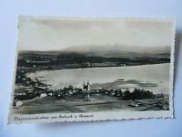 Ansichtskarte Flugzeugaufnahme von Seebruck v. Chiemsee 30/40er?