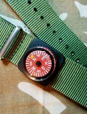 Mini Compass watch strap fit Seiko Citizen Diving Bussola orologio cinturino