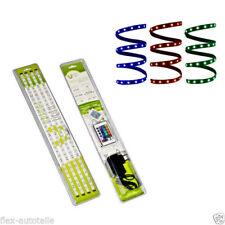 2 m Mètre LED Lumière Guirlande lumineuse RGB multicolore 36 W Télécommande