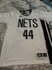 NEW Adidas Brooklyn Nets Swingman Sleeve Jersey Bogdanovic Size M