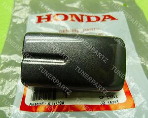 GENUINE 04 05 06 ACURA TL FRONT REAR PASSENGER GRAY PEARL DOOR HANDLE COVER CAP