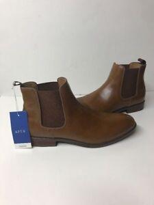 Men's Apt. 9 Edgewood Chelsea Boots Shoes Cognac Size 8, 8.5, 9.5, 12, 13