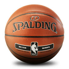Nba Spalding Silver Series Official Indoor Outdoor Basketball Sporting Size 7
