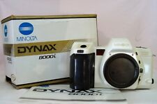 MINOLTA KIT DYNAX 8000i PEARL WHITE Serial # 22233563 Collectable Film Camera