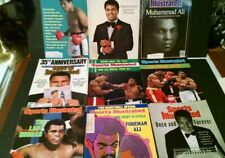 MUHAMMED ALI SPORTS ILLUSTRATED AND OTHER MAGAZINES LOT (22)