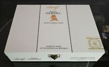More details for sir winston churchill cigar box manufactured by davidoff.