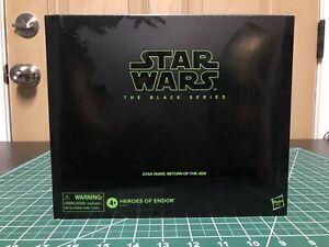 IN HAND Star Wars Black Series HEROES OF ENDOR Leia Han Luke Skywalker PulseCon