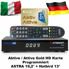 Tivusat HD Receiver  mit AKTIVE Karte SX 89  inkl. Senderliste programm CA H.265