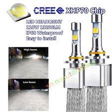 Car LED Headlight Kit CREE XHP70 110W 13200LM bulbs H4 H7 H11 9005 9006 9012 fog