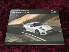 Jaguar F-Type Accessories Brochure 2018 - Nov 2017 UK Issue