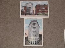2 Turks Head Bldg`s with different views, Providence, R.I., used vintage cards