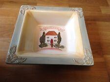 Certified International Toscana By Pamela Gladding 1 Large Square Bowl 30.5cm