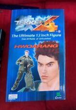 """Tekken 4 HWOARANG Figure/Figura 12"""" (New but shelf wear on box)"""
