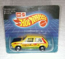 HOT WHEELS LEO INDIA VW HARE SPLITTER YELLOW WITH BLACK HOOD UNPUNCHED BRAND NEW